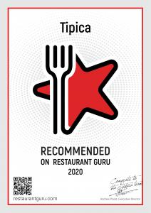 Tipica Certificate 2020 by Guru